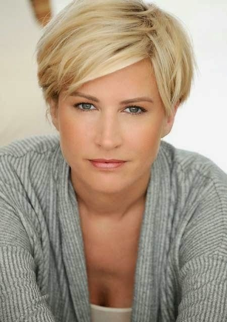 Short-Blond-Hair-for-Everyday-Hairstyles Beautiful Hairstyles for Thin Hair 2019