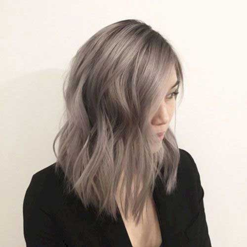 Short-Blonde-Long-Bob-Hairstyle Chic Ideas About Short Ash Blonde Hairstyles