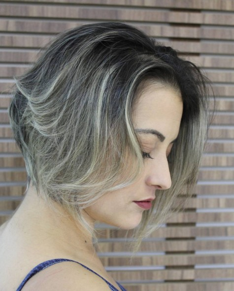 Short-Bob-Hairstyle Chic Short Hairstyles for Women 2019