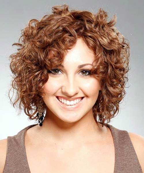 Short-Frizzy-Curly-Thick-Hair-with-Layers Short Haircuts For Curly Frizzy Hair