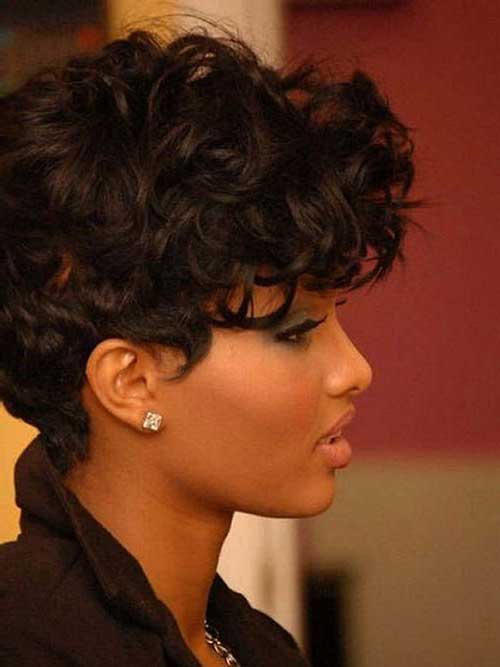 Short-Hair-Curly-Weave-Style Best Short Curly Weave Hairstyles