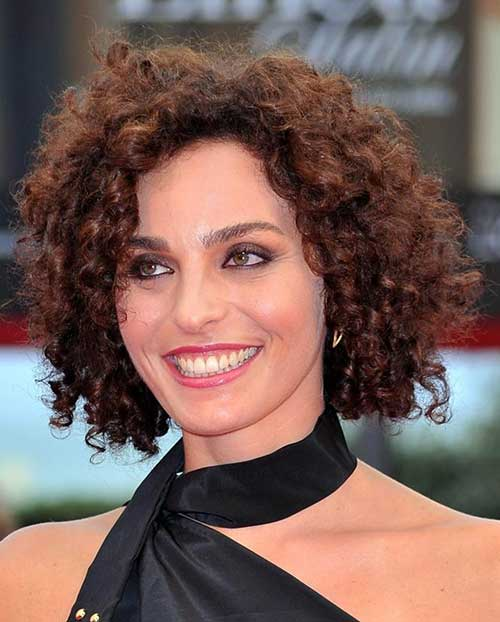 Short-Haircut-for-Curly-Frizzy-Thick-Hair Short Haircuts For Curly Frizzy Hair