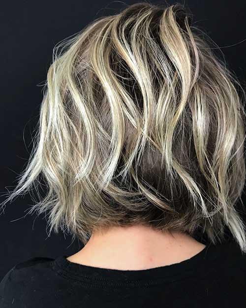 Short-Layered-Bob-Hairstyles Back View Of Short Layered Haircuts