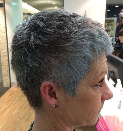 Short-Pixie-Haircut Very Short Haircuts for Older Women for New Look