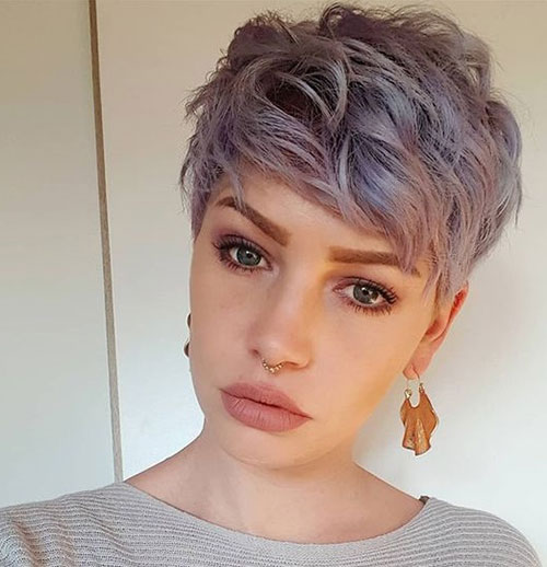 Short-Sassy-Edgy-Pixie-Cut Best Sassy Pixie Cuts 2019