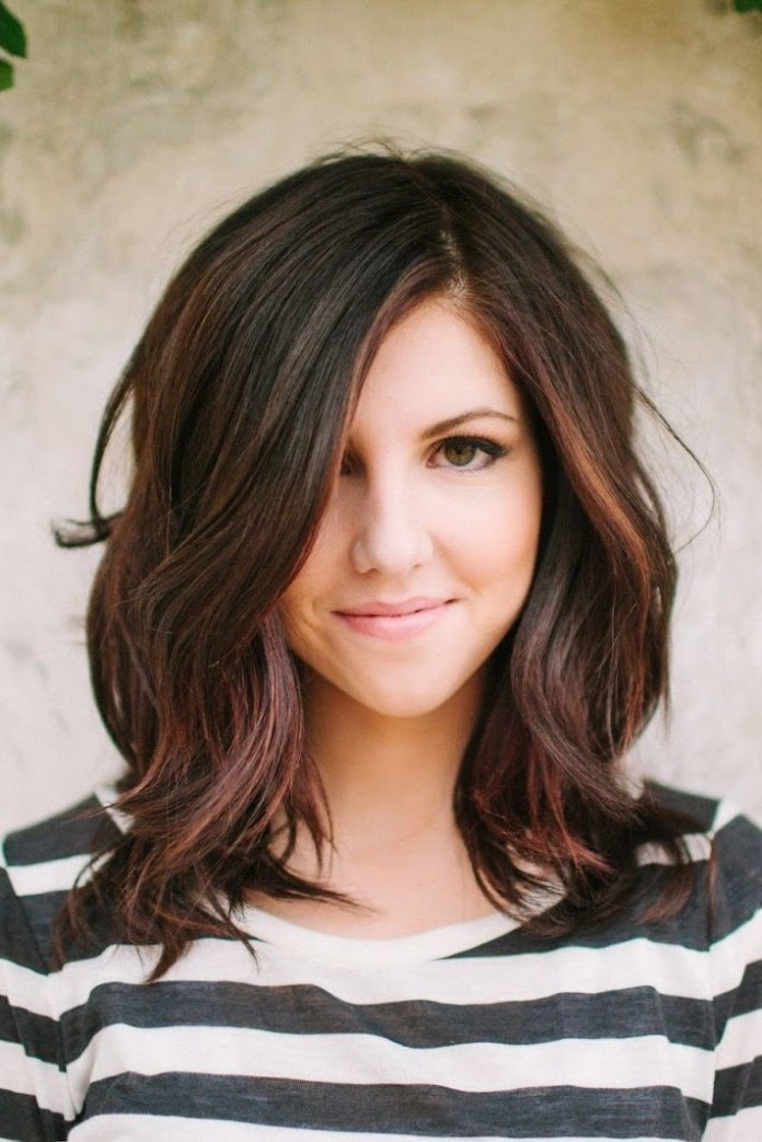 Shoulder-Length-Hairstyle-for-Ombre-Hair Beautiful Hairstyles for Thin Hair 2019