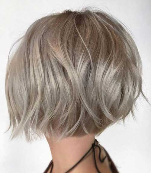 Soft-Waves Chic Ideas About Short Ash Blonde Hairstyles