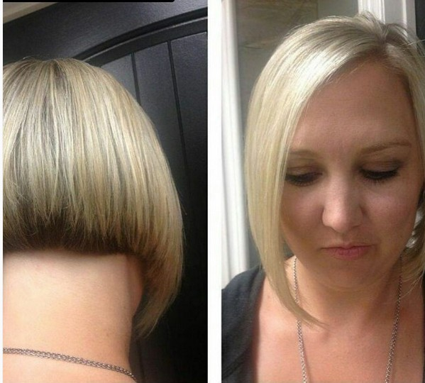 Straight-Bob-Haircut Beautiful Short Hairstyles for Round Faces 2019
