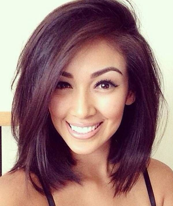 Stylish-Bob-Haircut-for-Straight-Hairstyles Alluring Straight Hairstyles for 2019 (Short, Medium & Long Hair)