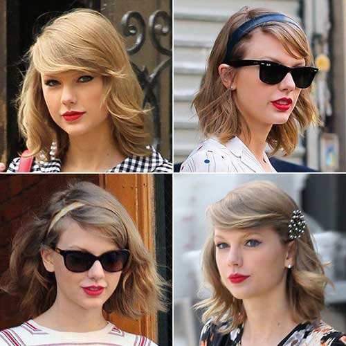 Taylor-Swift-New-Short-Hair-Style New Hairstyles for Short Hair