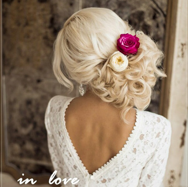 Wedding-Hairstyles-10 Romantic Wedding Hairstyles for 2019