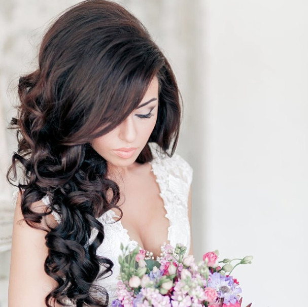 Wedding-Hairstyles-19 Romantic Wedding Hairstyles for 2019