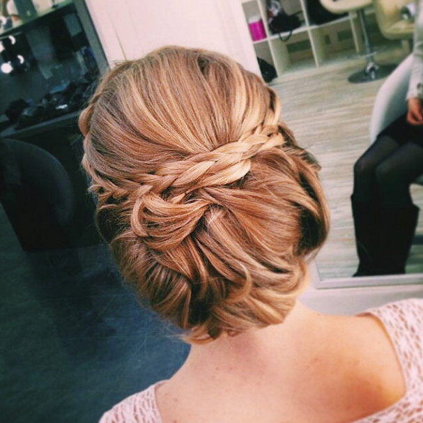 Wedding-Hairstyles-23 Romantic Wedding Hairstyles for 2019
