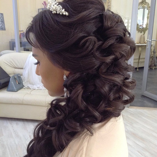 Wedding-Hairstyles-4 Romantic Wedding Hairstyles for 2019