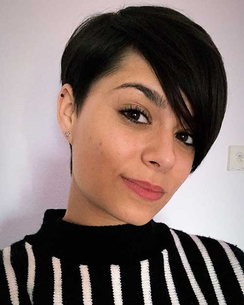 cute-and-easy-hairstyles-for-short-hair-5 Cute Easy Hairstyle Ideas for Short Hair