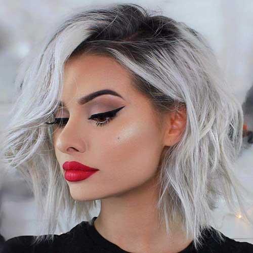 cute-easy-hairstyles-for-short-hair-2 Best Cute Short Haircuts 2019
