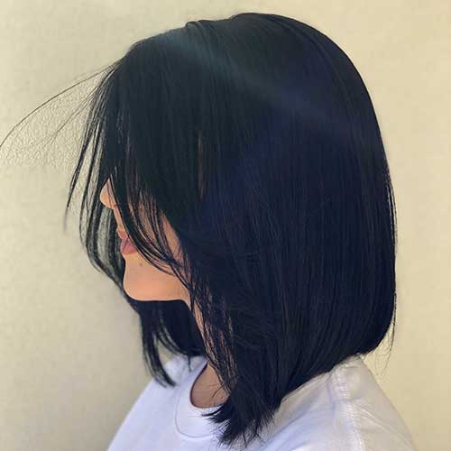 cute-easy-hairstyles-for-short-straight-hair-3 Cute Easy Hairstyle Ideas for Short Hair