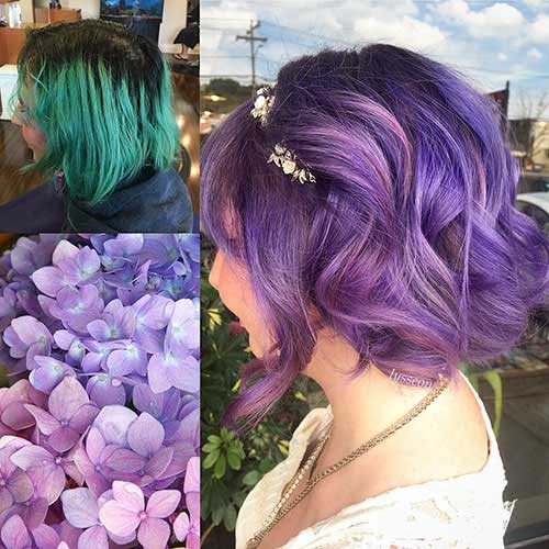 cute-hair-colors-for-short-hair-4 Best Cute Short Haircuts 2019