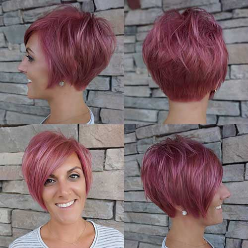 cute-hair-colors-for-short-hair Best Cute Short Haircuts 2019