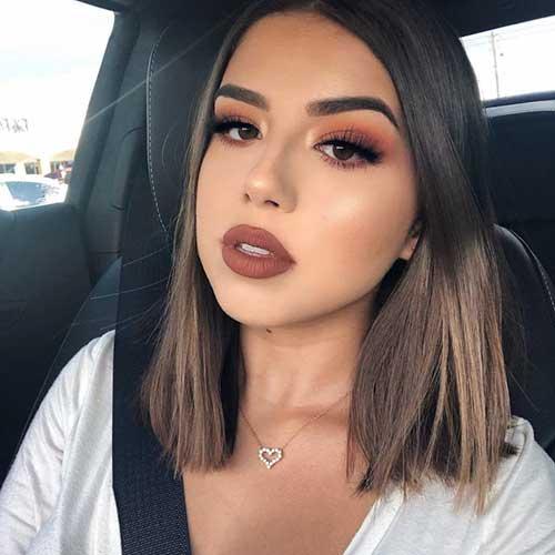 short-brown-hair-1 Best Short Hairstyle Ideas 2019