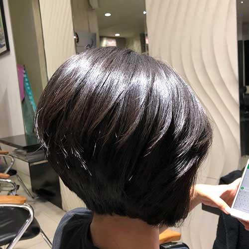 short-hair-back Back View Of Short Layered Haircuts