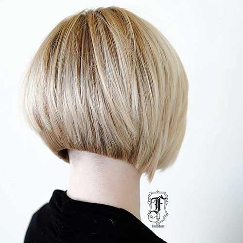 short-layered-bob-haircuts-back-view Back View Of Short Layered Haircuts