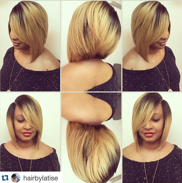 A-Line-Bob-Hairstyle-for-African-American-women Trendiest Bob Haircuts for Women