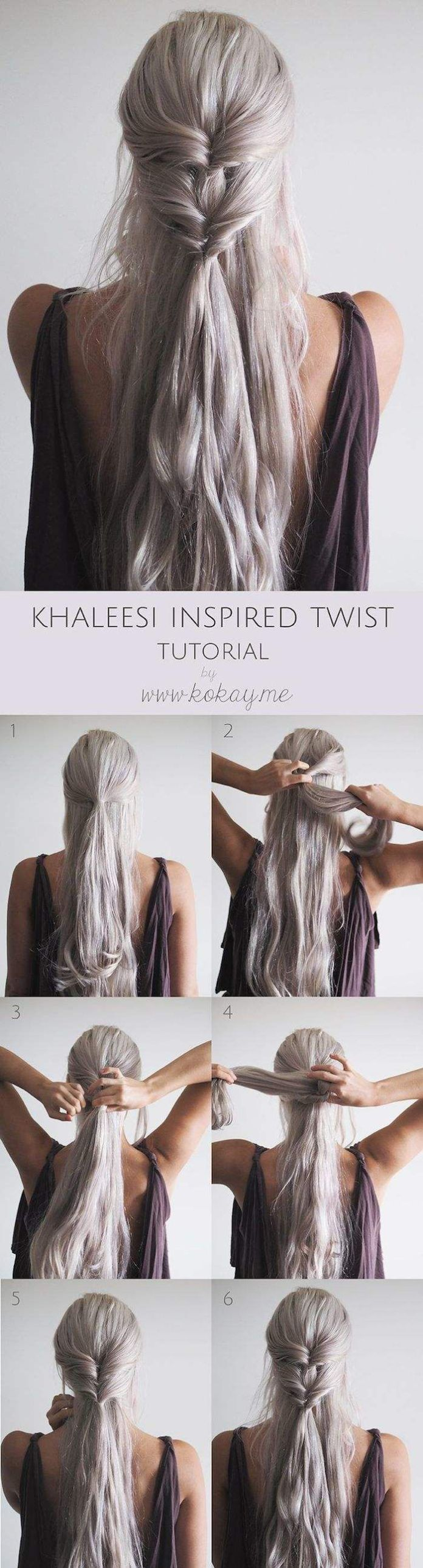Adorable-Wedding-Hair Hair Tutorials to Style Your Hair
