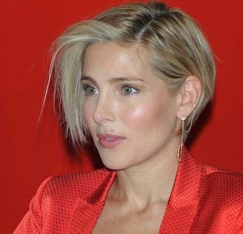 Asymmetrical-Short-Haircut-for-Fine-Hair Short Hairstyles for Women Over 40 to Explore New Look