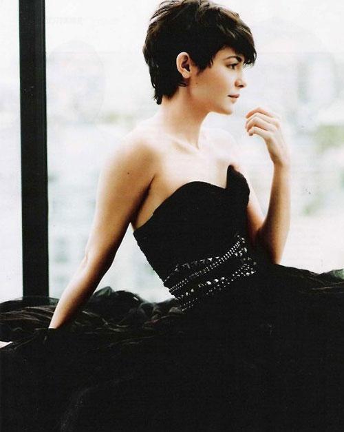 Audrey-Tautou-pixie-haircut Short pixie haircuts for women