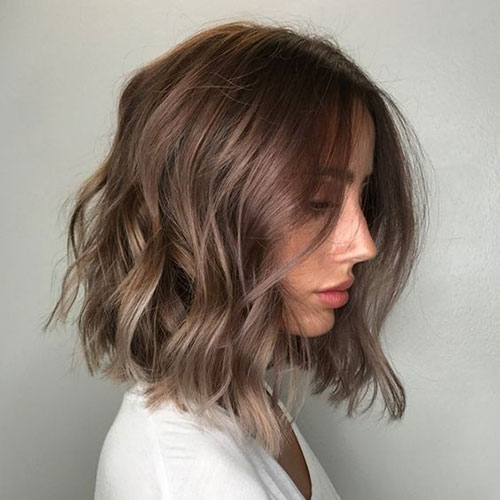 Balayage-Hairstyle-for-Short-Wavy-Hair Latest Alternatives About Hairstyles for Short Wavy Hair 2019