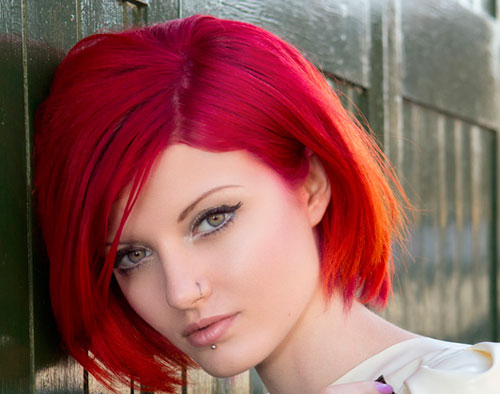 Best-hair-color-for-square-face Best Short Hair Color Trends 2019