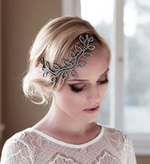 Bridal-Hair-Updo Short Formal Hairstyles with Hottest Way