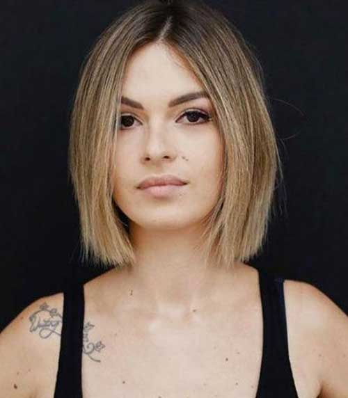 Brown-Fine-Hair Short Thin Hairstyles to Easily be Feminine