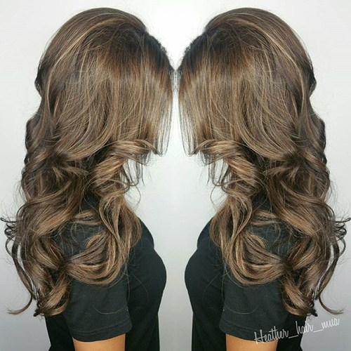 Caramel-Sombre New Hairstyles and Hair Color Ideas for Fall
