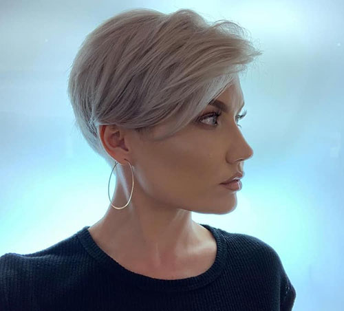 Chic-Long-Pixie Modern Hairstyles for Short Hair