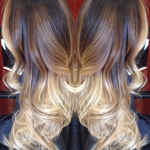 Creamy-Balayage Gorgeous Ways to Rock Blonde and Sliver Hair