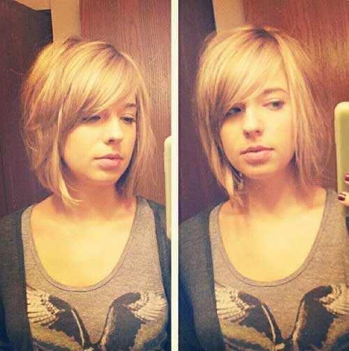 Cute-Girl-with-Bob-Haircut Best Cute Girl Short Haircuts To Help You Out