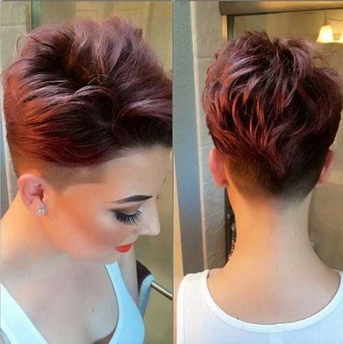 Cute-Girl-with-Undercut-Pixie-Hair Best Cute Girl Short Haircuts To Help You Out
