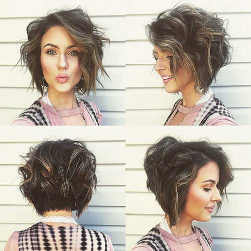 Cute-Hair Best Short Haircuts for Women with Curly Hair