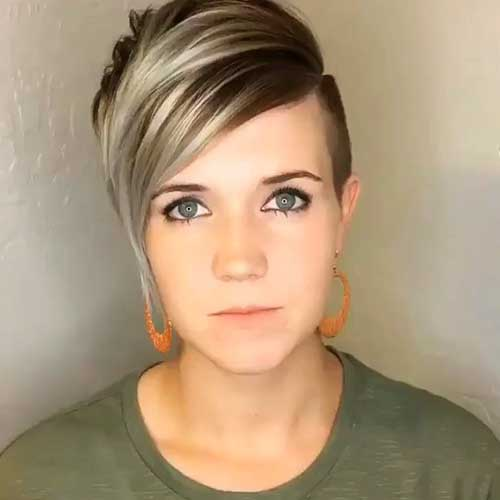 Different-Short-Hairstyle Best Short Hairstyle Ideas for Oval Faces