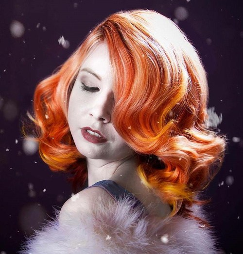 Fiery-Red Best Hair Colors for Winter 2019: Hottest Hair Color Ideas