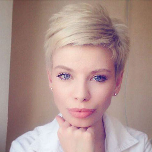Fine-Pixie-Style Modern Hairstyles for Short Hair