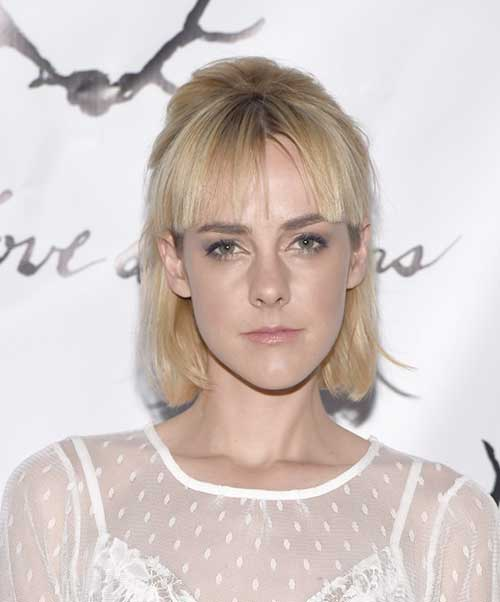 Fine-Straight-Bob-with-Blunt-Bangs New Bob Haircuts for Fine Hair