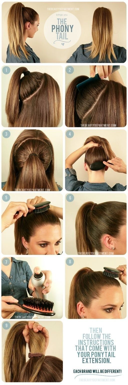High-Ponytail Hair Tutorials to Style Your Hair