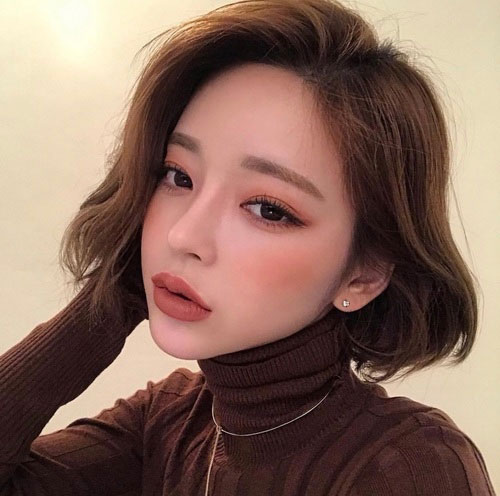 Korean-Cute-Bob-Cut Latest Bob Style Haircuts