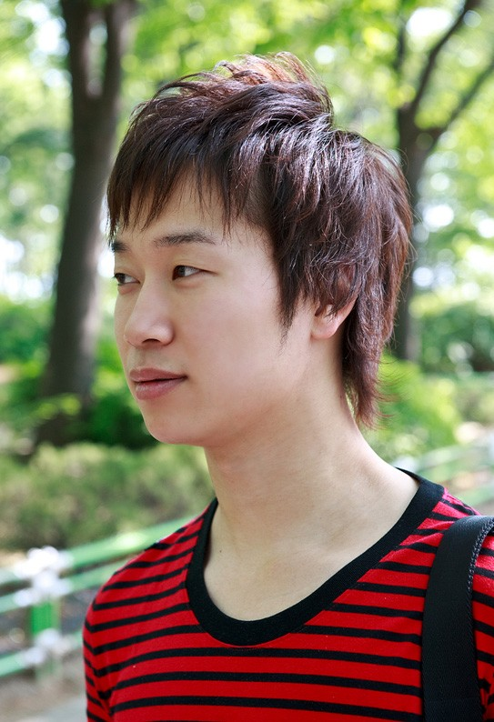 Korean-Hairstyles-for-teenagers Cool Korean and Japanese Hairstyles for Asian Guys