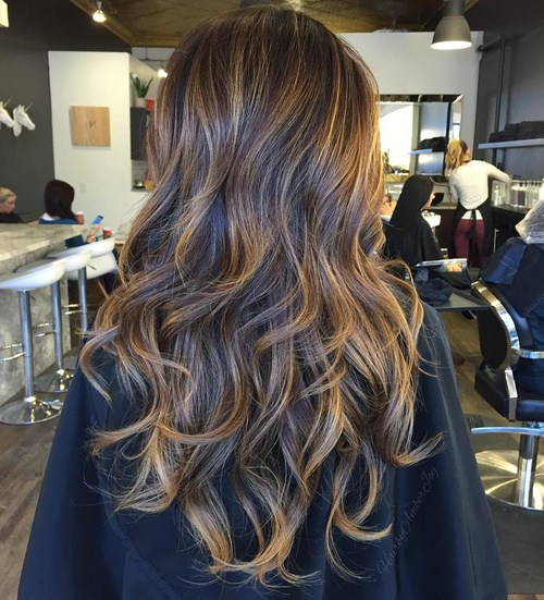 Layered-Highlights Best Hair Colors for Winter 2019: Hottest Hair Color Ideas
