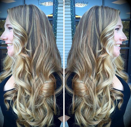Long-Blonde-Balayage New Hairstyles and Hair Color Ideas for Fall
