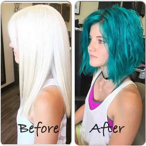 Long-Bob-Hairstyle-for-Blue-Hair Modern Bob Hairstyles for 2019 – Best Bob Haircut Ideas